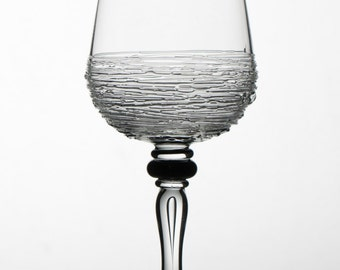 Hand Blown Wine Glasses