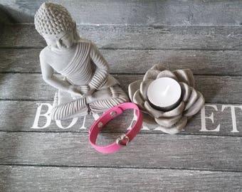 Bracelet hot pink