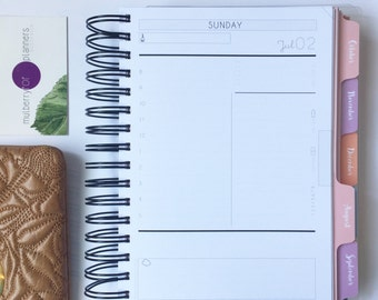 A5 Daily Planner (June2017-Jan2018)