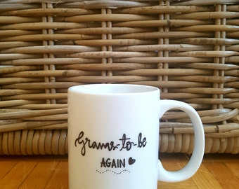 Pregnancy Announcement, Grandma Mug, Personalized Mug, Grandma To Be Mug, New Grandma, Custom Mug