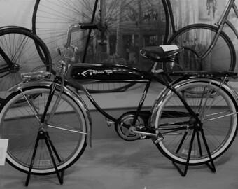Black & White Vintage Bicycle