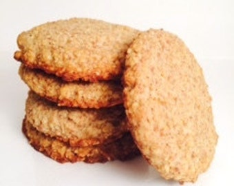 Low Carb Oatmeal Cookies, Refined Sugar Free, Low Carb High Fat, Gluten Free
