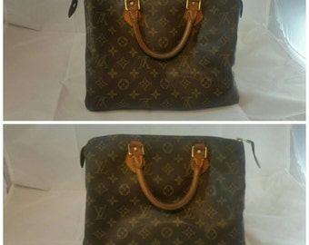 Authentic Louis Vuitton Speedy 30 in Monogram Canvas