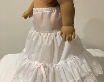 Crinoline Slip fits American Girl Dolls