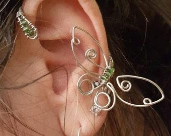 Butterfly Ear Wrap; product id: bew