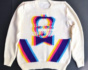 Klaus Nomi handmade sweater (M-size)