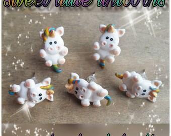 Unicorn earrings Unicorn earrings Unicorn earrings handmade children's earrings