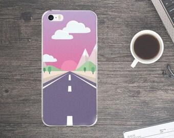 Nature Phone Case - Nature iPhone Case - Road iPhone Case -  Cellphone Case - iPhone Case
