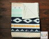 Aztec Baby Blanket - Baby Blanket - Baby Shower gifts girl - Baby Blanket Boy - New Baby Gift - Boho Nursery - Baby Boy Coming Home