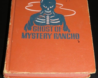Vintage Roy Rogers And The Ghost Of Mystery Rancho By Walker A Tompkins 1950