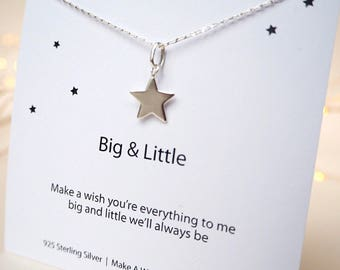 Big Little Sorority Gift, Sorority Necklace, Friendship Charm Necklace, Big Little Reveal, Big Sister Gift, Little Sister Gift