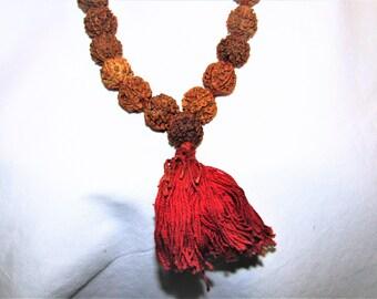 5 Mukhi Rudraksha Mala 54 Beads