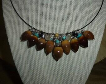 Acorn Necklace W#1