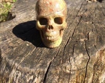 Natural Rhyolite Crystal Skull