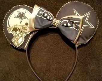 Dallas Coyboys Disney Inspired Ears