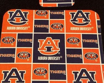 Auburn Tigers Mouse Pad & Coaster Set