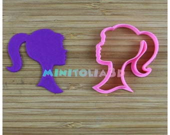 Girl Silhouette Cookie Cutter