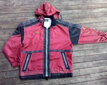 aasics  Hoodie windbreaker 100% waterproof sport wear luxury style vintage