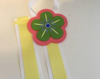 Sale!!!! Flower Bow Holder, hairbow holder