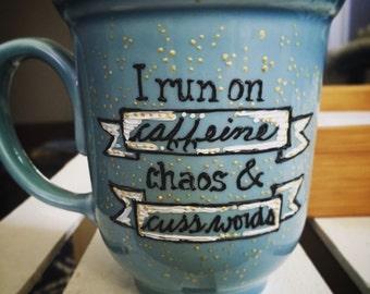 Caffeine and Cuss Words