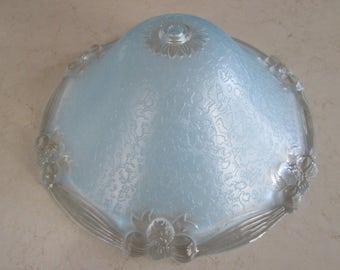 Vintage Glass Ceiling Light Cover