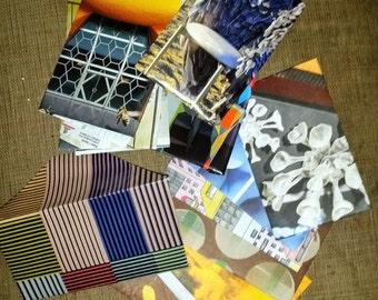 set of 5 handmade envelopes