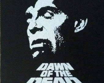 Dawn of the Dead Flyboy - PATCH cloth screen print HORROR - George Romero Zombie
