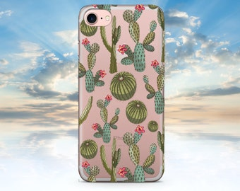 iPhone 7 Case Clear Cactus İPhone 7 Plus Case Clear Cactus iPhone 6 Case Clear iPhone 6S Case iPhone 6 Plus Case Clear iPhone SE Clear
