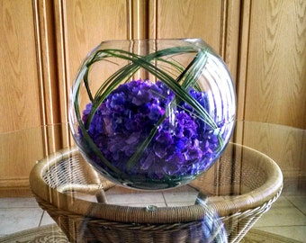 Real Touch Floral Arrangement-Real Touch Hydrangea -Flower Arrangement-Table Arrangement