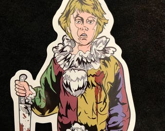 Myers Kid Die Cut Vinyl Sticker