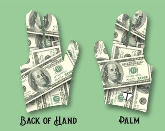 Money Billiard Glove