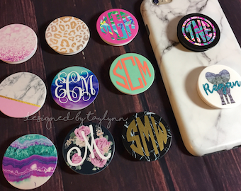 Personalized Pop up phone grips, phone grip, phone holder