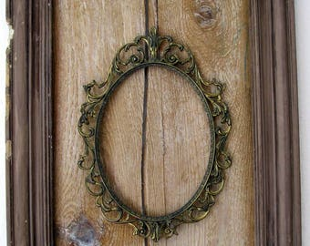 picture frame Vintage deko object