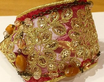 The Miriam Vintage Gypsy Cuff