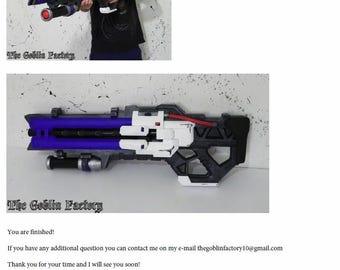 How to make Soldier: 76 heavy pulse rifle Overwatch complete tutorial cosplay prop