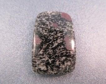 Gneiss Garnet Foliated Metamorphic Rock Cabochon 1pc