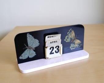 A rare little 1930's or 1940's perpetual calendar