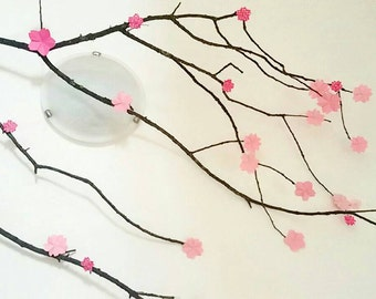 Origami paper cherry blossoms/sakura flowers origami paper/sakura