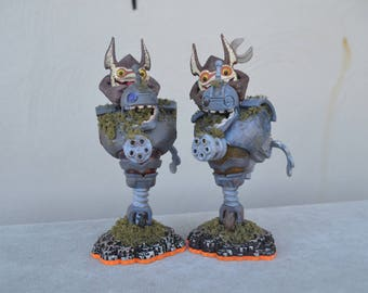 Bouncer / Trigger Happy Custom Skylander