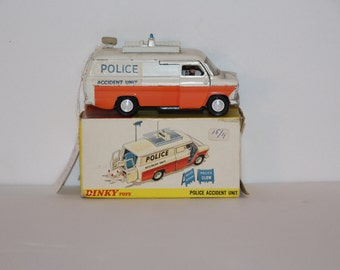 Dinky police van with all the accessories