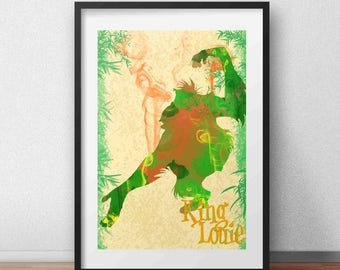 Walt Disney's The Jungle Book King Louie Poster