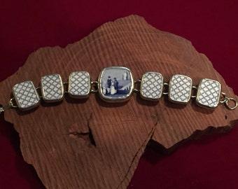 Broken China Bracelet -- #10,004