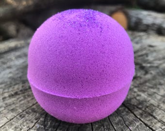 XL Bubble Bath Bomb Solid Color Bath Bomb Bath Fizzy Glitter Bath Bomb