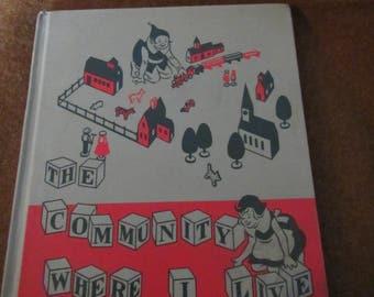 1952 ** The Community Where I Live ** Mary Lusk Pierce **sj