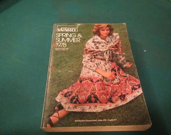 1978  ** Montgomery Ward ** Spring and Summer Catalog ** sj