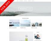 XoanBlog - A WordPress Blog Theme - Responsive WordPress Blog Theme - Feminine Wordpress Theme - Responsive