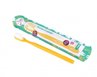 Toothbrush rechargeable - yellow