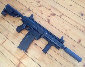 NEW* Custom Nerf Retaliator // HECKLER & KOCH HK416 styling + internal mods!