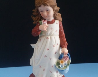 Holly Hobbie Bisque Porcelain Figurine HHF-3