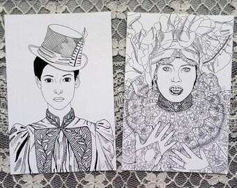 Bram Stoker's Dracula- Mina and Lucy